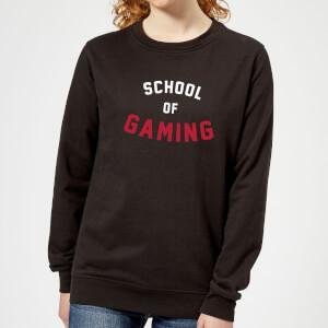 School of Gaming Women's Sweatshirt - Black
