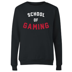 School of Gaming Women's Sweatshirt - Black