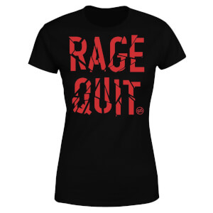 Rage Quit Women's T-Shirt - Black