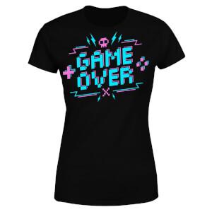 Game Over Gaming Women's T-Shirt - Black