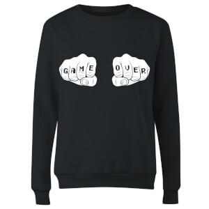 Game Over Women's Sweatshirt - Black