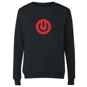 Power On Women's Sweatshirt - Black