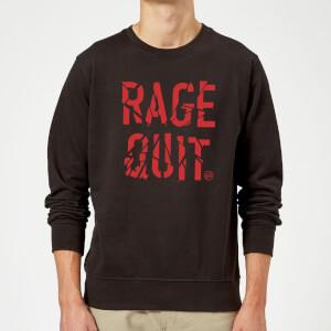 Rage Quit Sweatshirt - Black