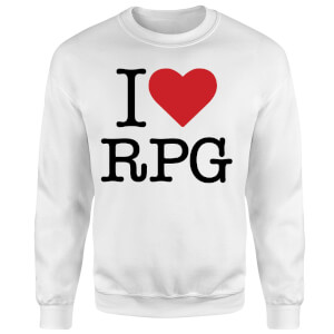 I Love RPG Sweatshirt - White