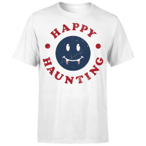 Happy Haunting Fang T-Shirt - White