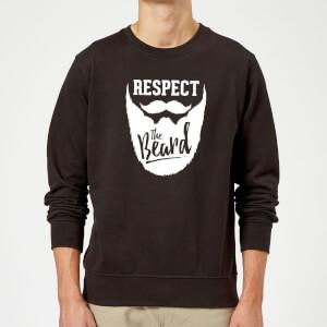 Respect the Beard Sweatshirt - Black