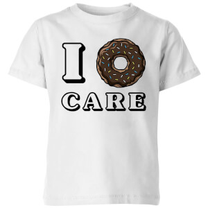 I Donut Care Kids' T-Shirt - White