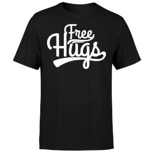 Free Hugs T-Shirt - Black