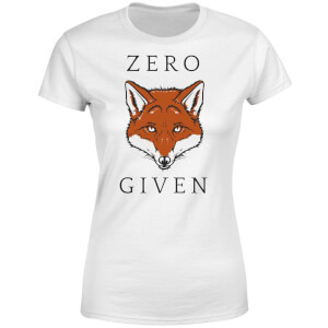 Zero Fox Given Women's T-Shirt - White