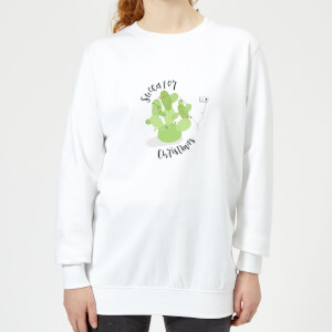 Succa For Christmas Women's Sweatshirt - White