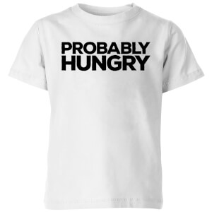 Probably Hungry Kids' T-Shirt - White