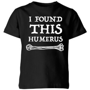 My Little Rascal I Found this Humurus Kids' T-Shirt - Black