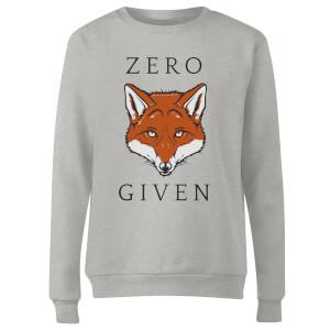 Zero Fox Given Women's Sweatshirt - Grey