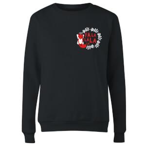 Fa La La La La Women's Sweatshirt - Black