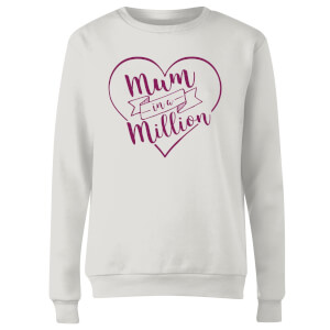 Mum in a Million Women's Sweatshirt - White