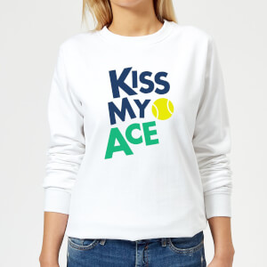 Kiss my Ace Women's Sweatshirt - White