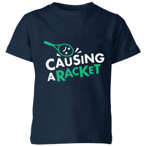 Causing a Racket Kids' T-Shirt - Navy