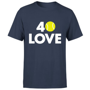 40 Love T-Shirt - Navy