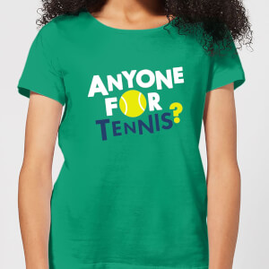 Anyone for Tennis Women's T-Shirt - Kelly Green