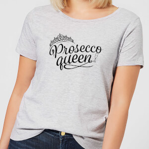 Prosecco Queen Women's T-Shirt - Grey