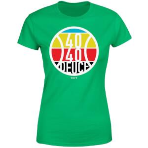 40 40 Deuce Women's T-Shirt - Kelly Green