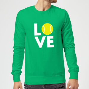 Love Tennis Sweatshirt - Kelly Green