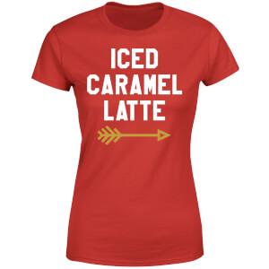 Iced Caramel Latte Women's T-Shirt - Red