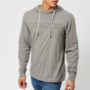 Diesel Men's Jimmy Logo Hoody - Grey