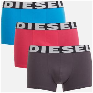 Diesel Men's Shawn 3 Pack Boxer Shorts - Multi