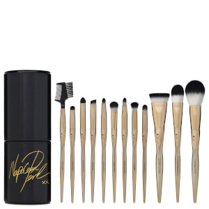 Napoleon Perdis Signature Golden Rule 12 Piece Makeup Brush Kit