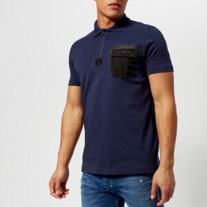 Diesel Men's Temp Polo Shirt - Peacock Blue
