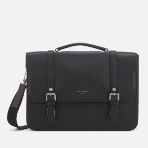 Ted Baker Men's Nevada Leather Satchel - Black