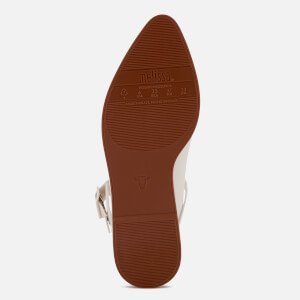 Melissa Women's Mary Jane Flat Shoes - White Contrast: Image 5