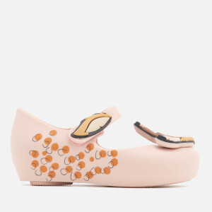 Mini Melissa Toddlers Ultragirl Bambi Ballet Flats - Blush