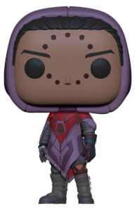 Destiny Hawthorne with Hawk Funko Pop! Vinyl