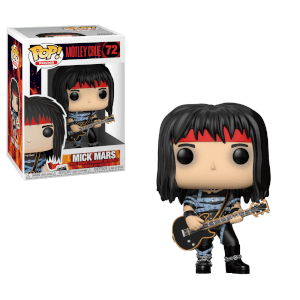Pop! Rocks Motley Crue- Mick Mars Pop! Vinyl Figur
