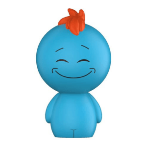 Rick and Morty Mr Meeseeks Dorbz Vinyl Figur