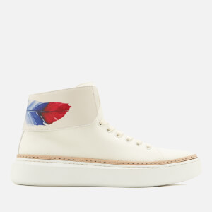 Buscemi Men's 90MM Crepone Trainers - White/Off White