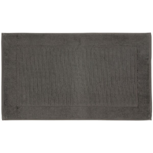 Christy Pedestal Bath Mat - Graphite