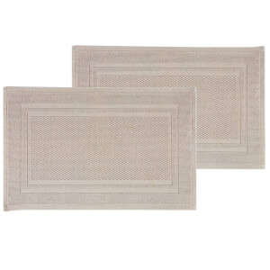 Christy Fina Bath Mat - Set of 2 - French Grey