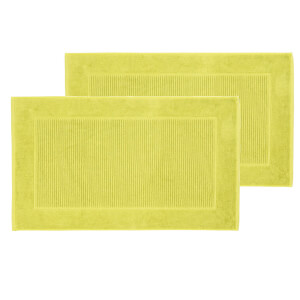 Christy Supreme Hygro Bath Mat - Set of 2 - Green Tea