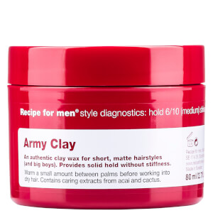 Recipe for Men Army Clay cera styling 80 ml