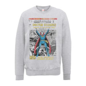 Marvel Doctor Strange premiere Comic Cover Men's Grey Sweatshirt