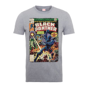 Marvel Comics The Black Panther Big Issue Männer T-Shirt - Grau