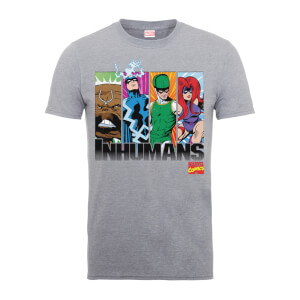 T-Shirt Homme Inhumans - Marvel Comics - Gris