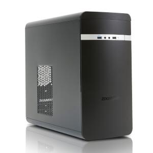 Zoostorm Evolve Desktop PC (Windows 10 Home, Intel Celeron N3050, 8GB RAM, 1TB HDD) - Black