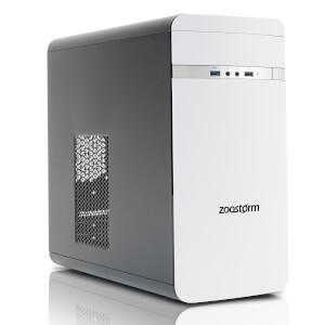 Zoostorm Evolve Desktop PC (Windows 10 Home, Intel Core i3-7100, 8GB RAM, 2TB HDD) - White