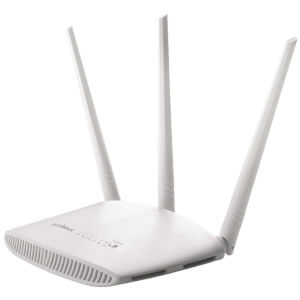 Edimax AC750 Wireless Fast Ethernet Router or Access Point - White