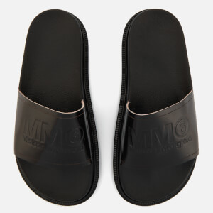 MM6 Maison Margiela Women's Slide Sandals - Black