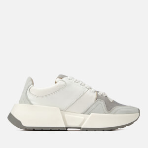 MM6 Maison Margiela Women's Trainers - White/Grey/White